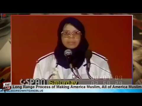Making All Of America Muslim 1989 Speech Brainwashing Working