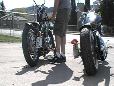 XS650 BOBBER & 2001 V STAR 1100 CUSTOM