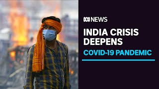 Download India COVID-19 cases and deaths continue to surge | ABC News