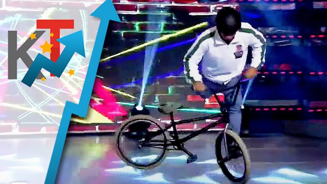 Brad Fit, ipinakita ang kakaibang talento sa paggamit ng bisikleta!