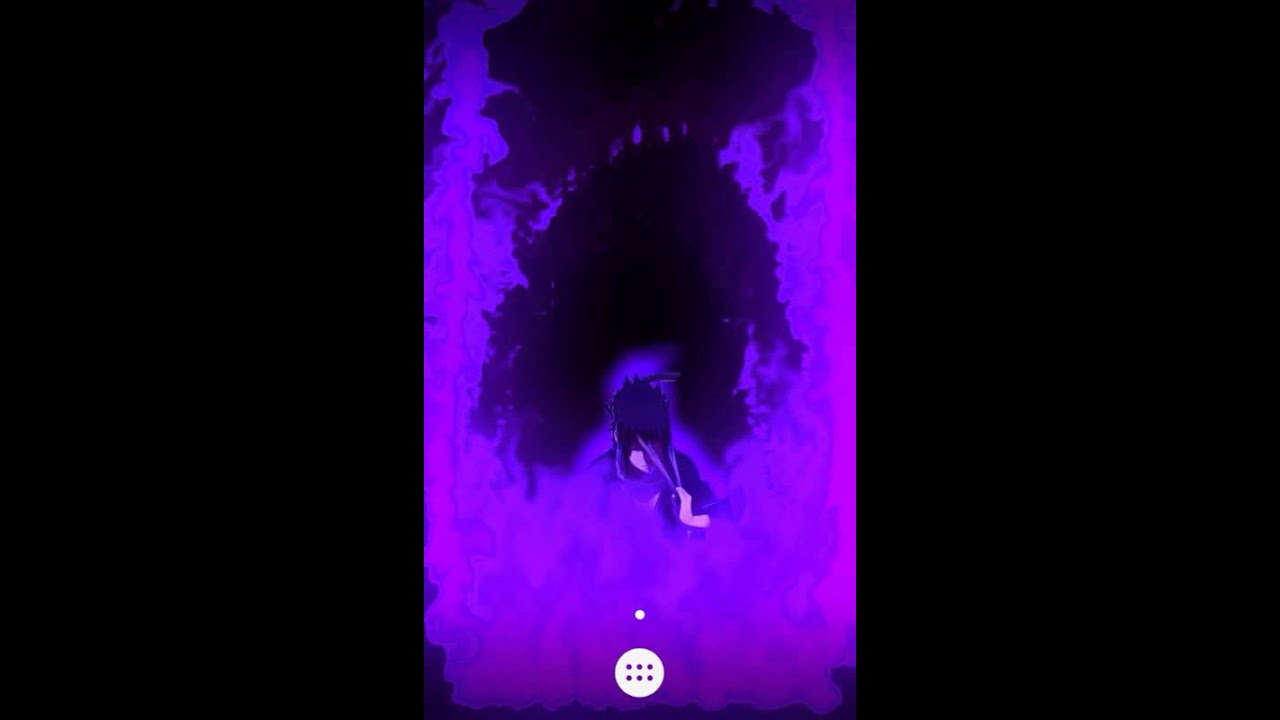 2 Apps Combinadas Sasuke Susanoo Live Wallpaper