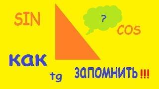 Синус, косинус, тангенс в прямоугольном треугольнике, подготовка к ОГЭ, ЕГЭ