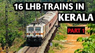 Venad Express Kerala Express Kerala Sampark Kranti Express TVC Rajdhani express Antyodaya Humsafar