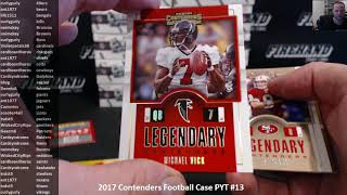 2017 Contenders Football Case PYT #13 ~ 6/16/18