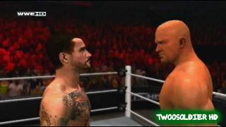 WWE12  Promo - Stone Cold vs Cm Punk WrestleMania 28