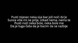 Tekst pjesme Rada Manojlovic  Haris Berkovic  Pusti noci neka bole