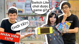 Nintendo Switch Lite chơi được game gì và có chơi được Pokémon không? nShop - Games n Hobbies