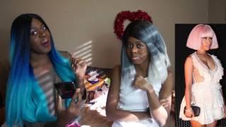 Reaction/Mom Reacts: 👑Nicki Minaj Freestyle Black Barbies | Rae Sremmurd Black Beatles Remix