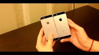 IPNONE 5S VS IPHONE SE(IOS11) Сравнение