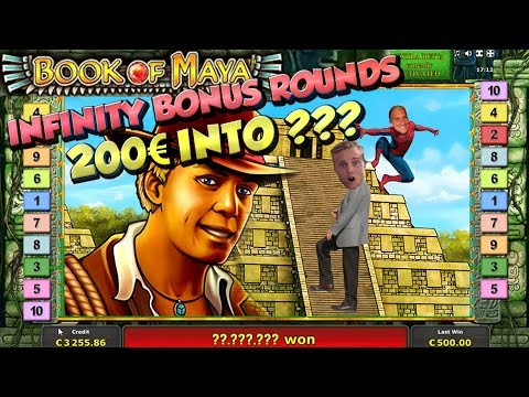 BIG WIN!!!! Book Of Maya - Casino Games - bonus compilation (Casino Slots - Online Casino)
