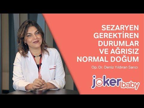 Sezaryen Gerektiren Durumlar ve Ağrısız Doğum Nasıl Yapılır?| Op. Dr. Deniz YILDIRAN SARICI