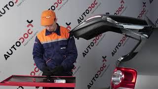 Comment remplacer des ampoules d'éclairage de plaque d'immatriculation sur une VW PASSAT B6