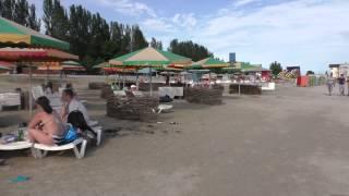 Морской сезон 2015 год г. Скадовск , центральный пляж, Херсонская область , Украина , черное море(Видео снято 9.06.2015 года., 2015-06-10T19:25:08.000Z)