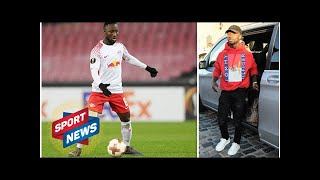 Naby Keita arrives on Merseyside to kick off Liverpool career - FIRST PICTURES