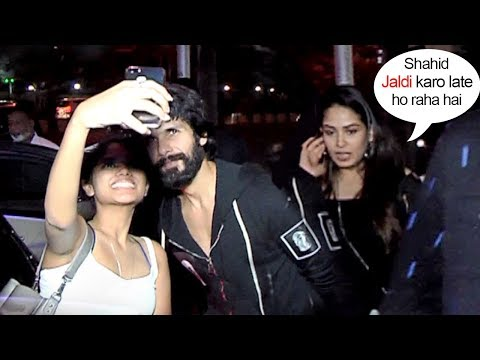 Mira Rajput Gets Upset Seeing Shahid Kapoor FLIRTING With CUTE Girl