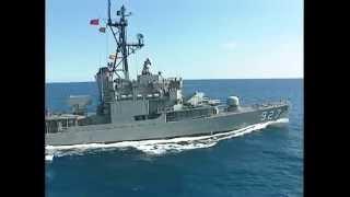 台湾海軍の駆逐艦