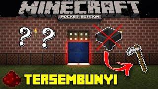 Cara Membuat Kunci Rumah Rahasia Pakai Hoe di Minecraft PE (Pocket Edition)
