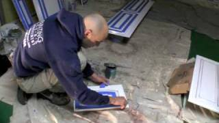 Faux Painting - Aging Cabinet's Door #1