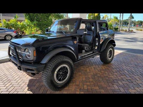 2021 Ford Bronco Shadow black 2 Door and 4 Door - Real ...