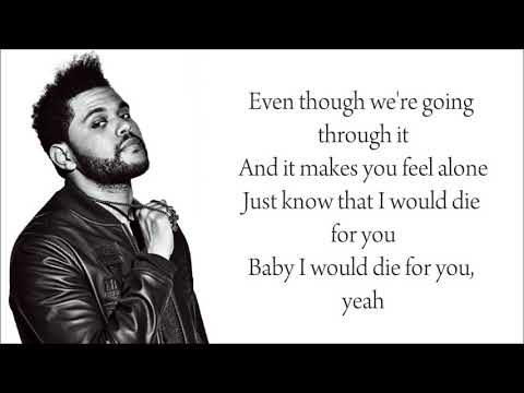 The Weeknd ft  Daft Punk   Die For You Lyrics
