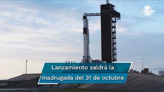 El lanzamiento fue postergado ocho días con el objetivo de asegurar el cierre de los trabajos tanto en tierra como a bordo de la estación