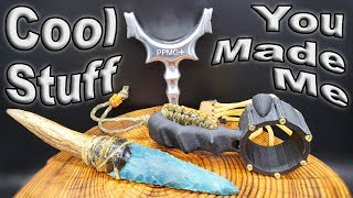 3D Printed Slingshot And More, Unboxing the Coolest Things I Have Ever Been Sent /  Vlog #29