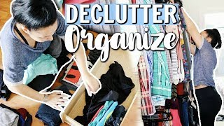 ULTIMATE CLEAN WITH ME 2018   DECLUTTER & SPRING CLEANING THE CLOSET!   Page Danielle