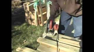 How To Build A Pergola - 2.measuring Wood For Pergola Base