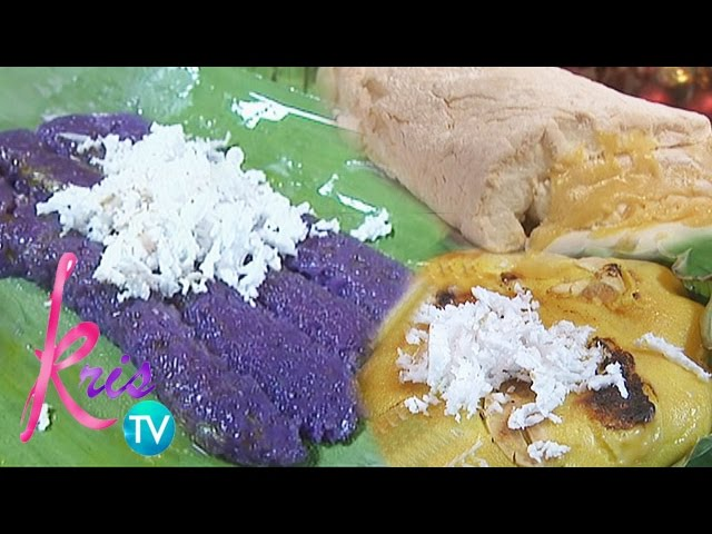 Kris TV: Christmas Delight Recipes