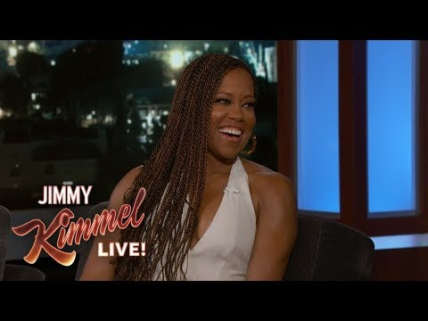 Tone Kapone - Regina King Talks Celebrity Crush and Award Season