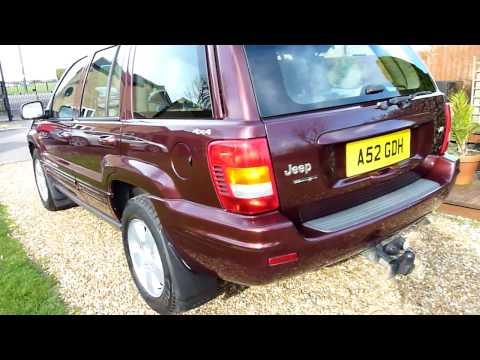 video review of 2001 jeep grand cherokee 4 7 v8 for sale sale sdsc specialist cars cambridge uk. Black Bedroom Furniture Sets. Home Design Ideas