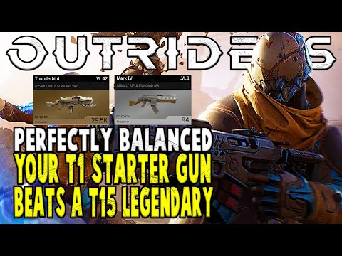 Outriders Is A Perfectly Balanced Game Where Your T1 Starter Gun Beats A T15 Legendary |