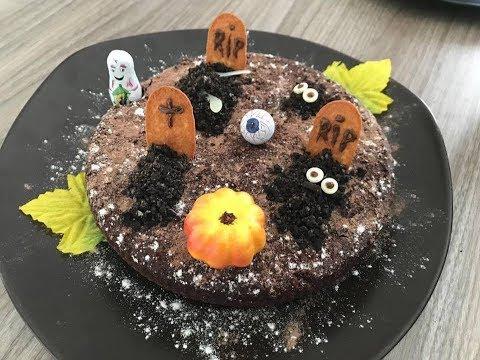 (recette)-brownie-cimetiÈre-halloween-rapide