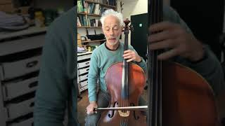 Cello with Timothy Kraemer - warm up exercise for scales at intermediate level