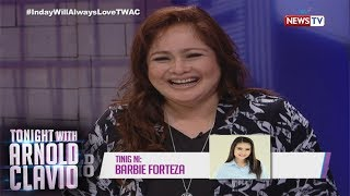 Tonight with Arnold Clavio: Manilyn Reynes, super proud kay Barbie Forteza!