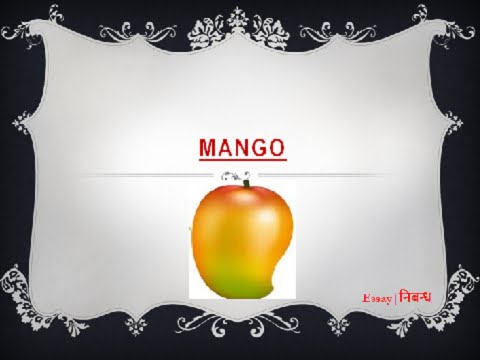 an essay on mango for kids in english language  an essay on mango for kids in english language