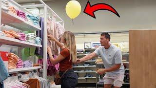 Pinning Balloons To Strangers Pt. 2!!