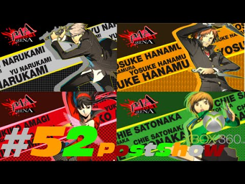 "Let's Play: Persona 4 Arena (BLIND) Part 52 ""Post Show for Yu, Yosuke, Yukiko, and Chie"""