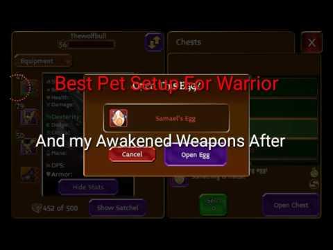 Arcane Legends Awakening And Best Pet Setup For Warrior Arcane Egg Opening