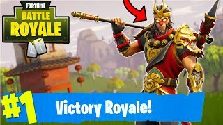"FORTNITE 7 SOLO WINS W/ THE NEW ""WUKONG"" SKIN! (Fortnite Battle Royale)"