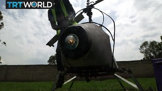 Money Talks: Ugandan inventor builds home-made helicopter