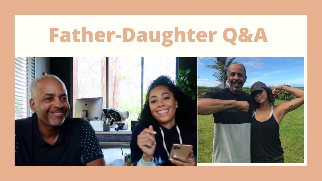 Father Daughter Q&A | Dell Curry x Sydel Curry Lee