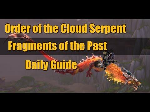 how to get cloud serpent