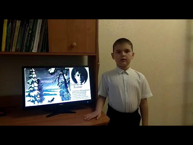 Изображение предпросмотра прочтения – ДмитрийМарченко читает произведение «Пороша (Еду. Тихо. Слышны звоны…)» С.А.Есенина