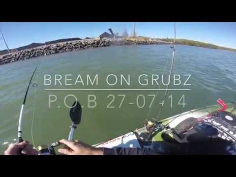 Bream On Grubz @ Port Of Brisbane