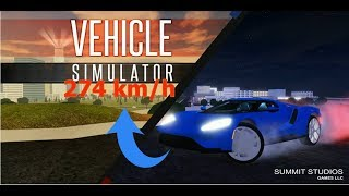 JE ME FAIS FLASHER A 274 KM/H ! Roblox Vehicle Simulator