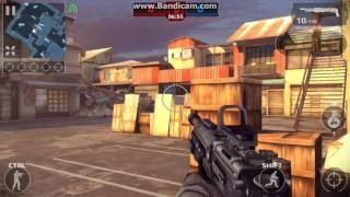 как играть на двоих в Modern Combat 5