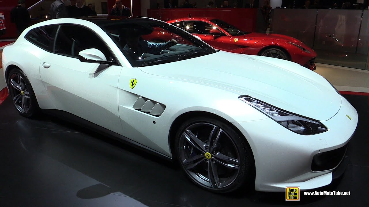 2017 Ferrari Gtc4 Lusso Exterior And Interior Walkaround Debut At 2016 Geneva Motor Show You