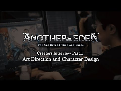 Another Eden Creators Interview Part.1 - Art Direction and Character Design