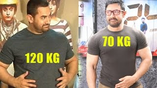 aamir khan fat to thin for dangal